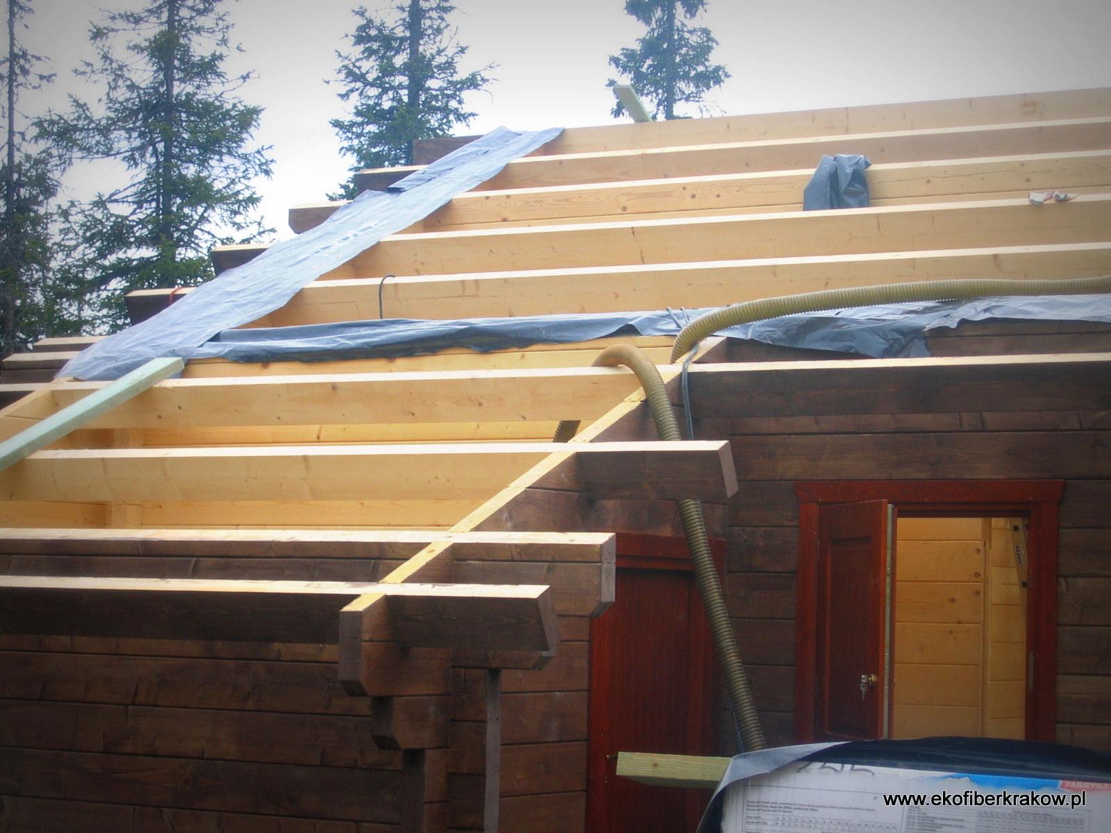 Ocieplenie domu drewnianego w Norwegii