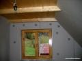 Dom drewniany i ściany z g-k