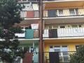 Dylatacja budynku ocieplana granulatem Ekofiber