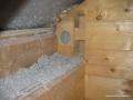 Ocieplenie ściany warstwowej wykonane granulatem celulozowym Ekofiber