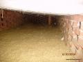 Ocieplenie stropodachu wentylowanego granulatem z wełny mineralnej