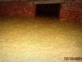 Gotowa warstwa ocieplenie stropodachu granulatem z wełny mineralnej
