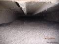 Ocieplenie stropodachu granulatem celulozowym Ekofiber