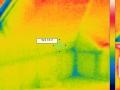 Zdjęcie termowizyjne po wykonanym uzupełnieniu izolacji